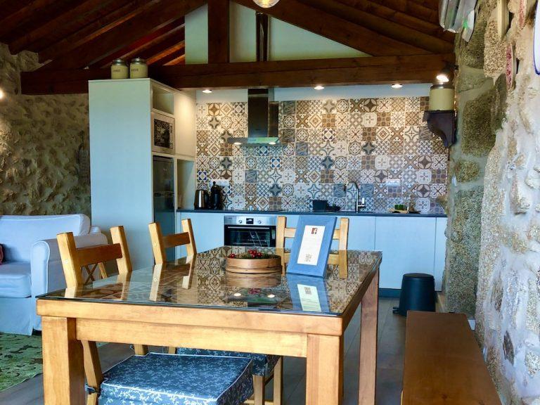 Cozinha Casa da Mina Eido do Pomar