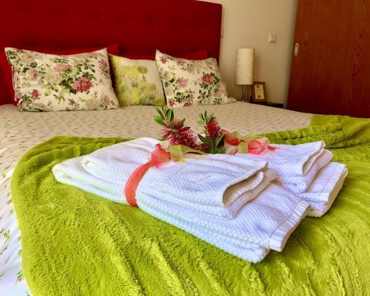 Casa do Pomar Eido do Pomar Cama Bed